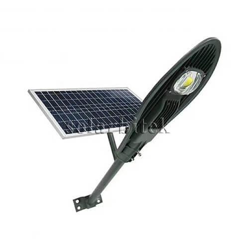 Đèn năng lượng mặt trời kiểu chiếc lá 50W BI-SL3050