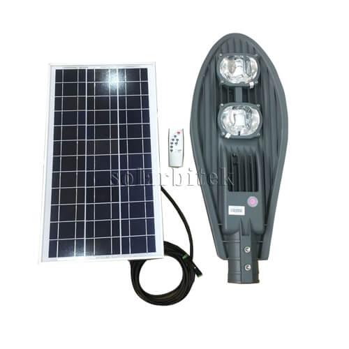 Đèn năng lượng mặt trời chiếc lá 100W BI-SL3100