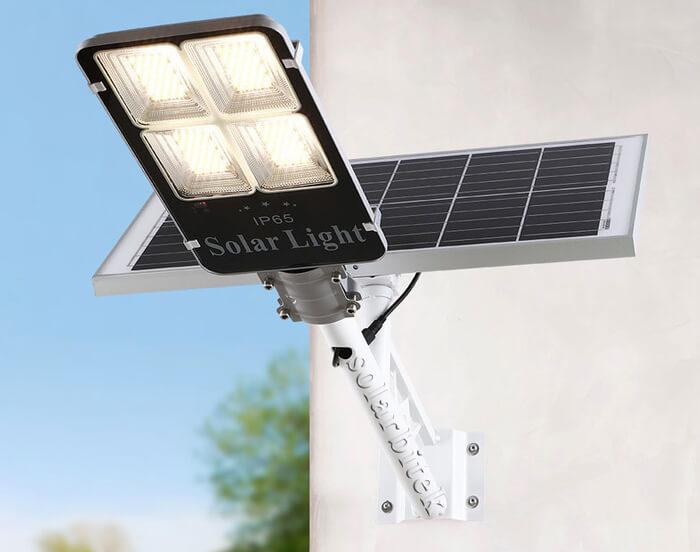 đèn năng lượng mặt trời bàn chải 200w