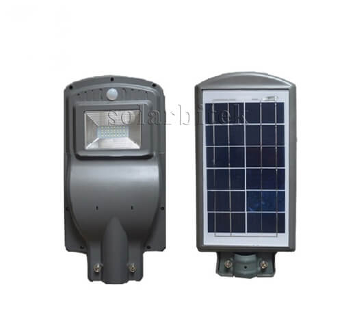 đèn đường năng lượng mặt trời liền thể 30w