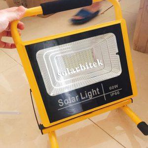 đèn pha năng lượng mặt trời 60w