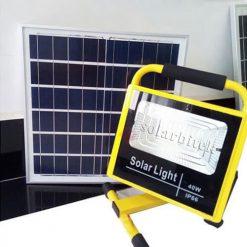 đèn pha năng lượng mặt trời xách tay 40w