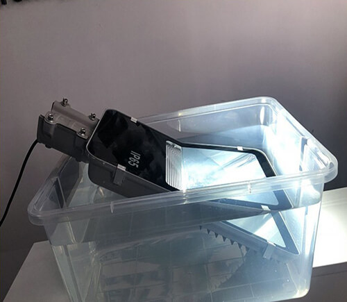 Đèn đường năng lượng mặt trời kiểu bàn chải 50W BI-SL2050