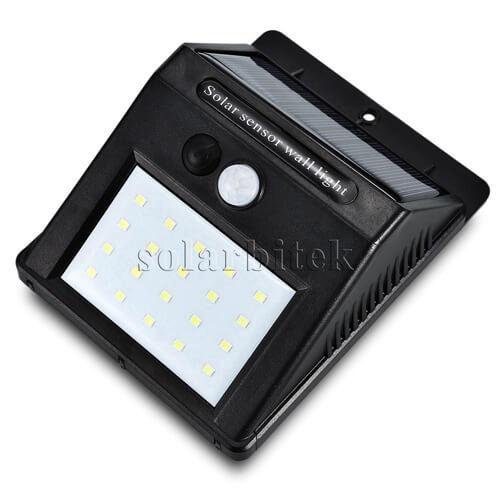 Đèn treo tường năng lượng mặt trời 20w BI-SL3020