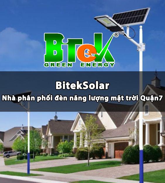 BitekSolar nhà phân phối đèn năng lượng mặt trời Quận 7