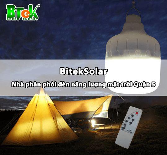 Bitek nhà phân phối đèn năng lượng mặt trời quận 5