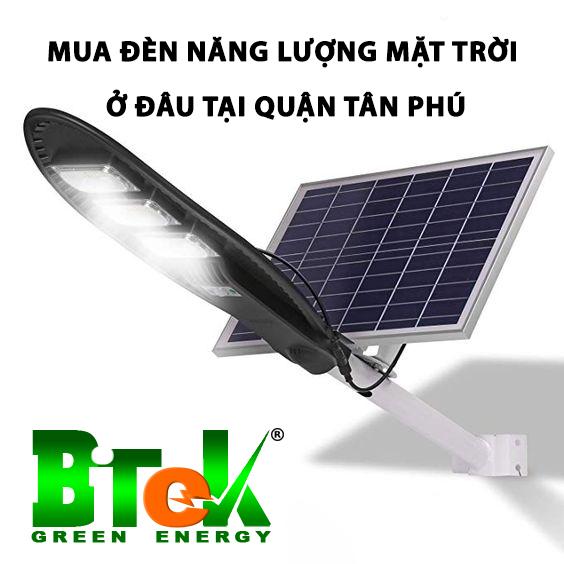 Mua đèn năng lượng mặt trời ở đâu tại quận Tân Phú giá rẻ