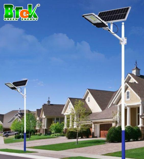 Đèn năng lượng mặt trời bàn chải