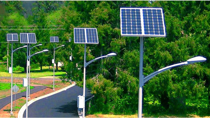 ứng dụng năng lượng mặt trời vào đèn
