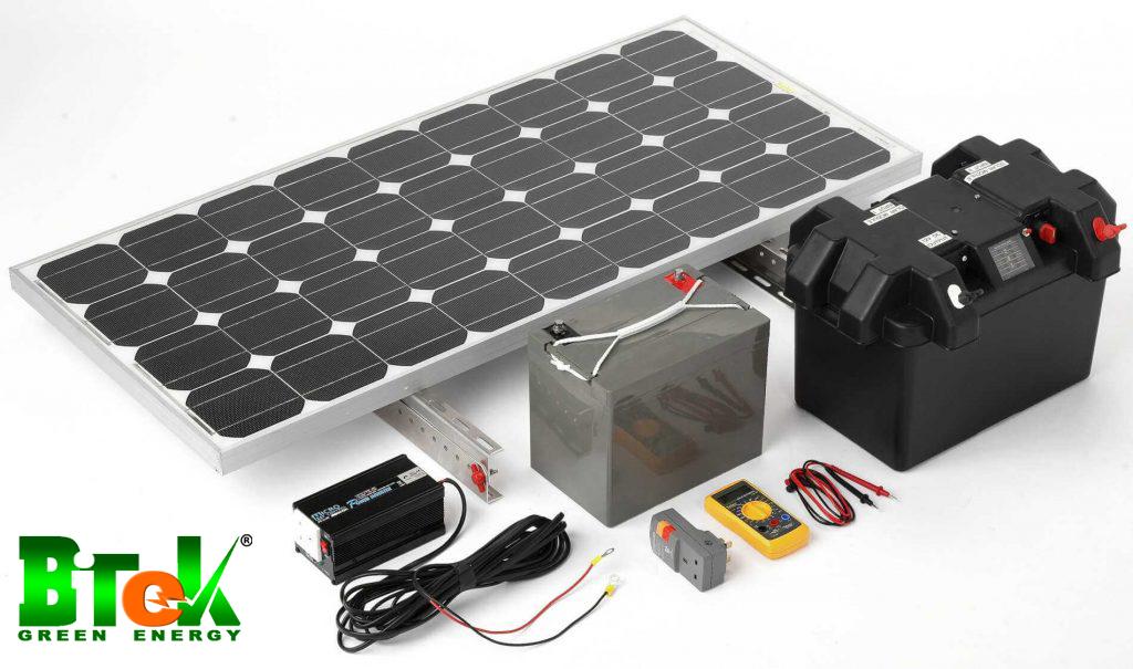 lắp đặt hệ thống pin lưu trữ năng lượng mặt trời