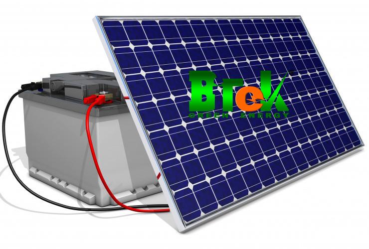 Pin lưu trữ năng lượng mặt trời
