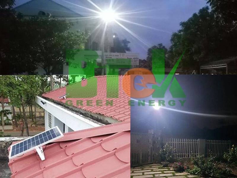 ứng dụng đèn năng lượng mặt trời trong nhà