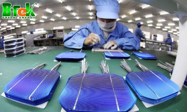 7 bước quy trình sản xuất pin năng lượng mặt trời