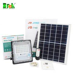 Bộ Đèn pha năng lượng mặt trời 40w jd740