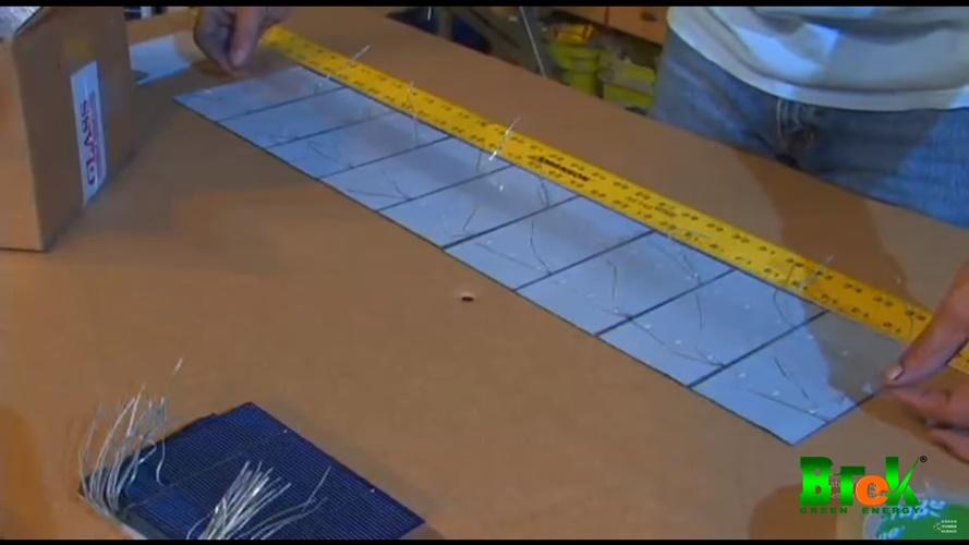Cách làm tấm pin năng lượng mặt trời bước 4