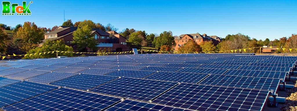 Đặc điểm và kết cấu của tấm pin năng lượng mặt trời 2000W
