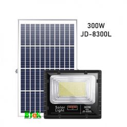 đèn pha năng lượng mặt trời 300W JD-8300L