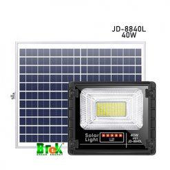 đèn pha năng lượng mặt trời 40W JD-8840L