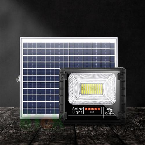 Đén pha năng lượng mặt trời 40W JD-8840L