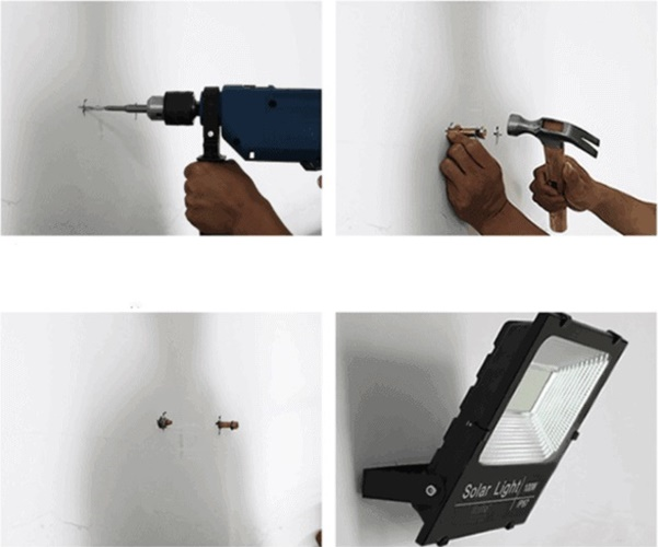 hướng dẫn lắp đặt đèn năng lượng mặt trời
