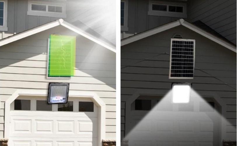 Ứng dụng đèn pha năng lượng mặt trời 40W JD740