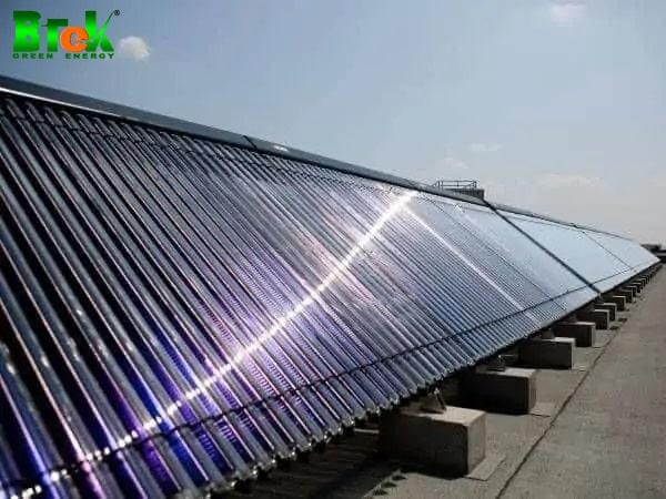 ứng dụng năng lượng mặt trời vào máy nước nóng